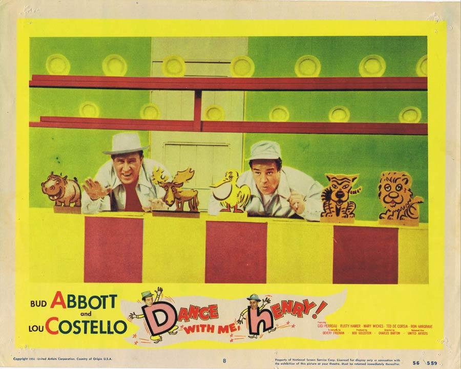 DANCE WITH ME HENRY Lobby Card 8 Abbott and Costello