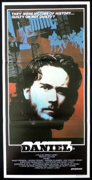 DANIEL Daybill Movie poster Timothy Hutton