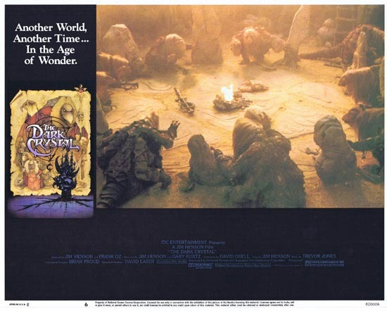 THE DARK CRYSTAL Lobby Card 6 1982 Jim Henson Frank Oz