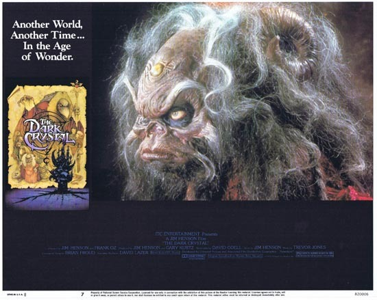 THE DARK CRYSTAL Lobby Card 7 1982 Jim Henson Frank Oz