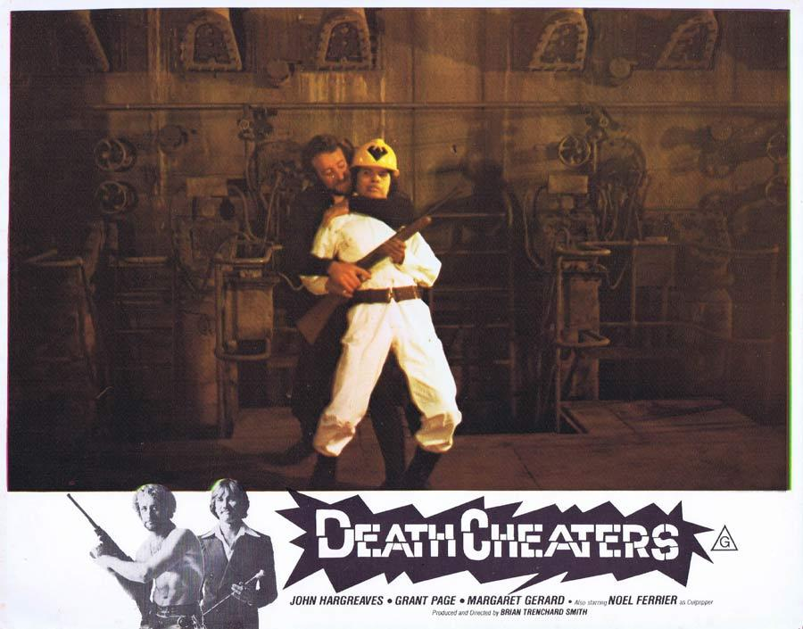 DEATH CHEATERS Lobby Card 4 Grant Page Stunt Man