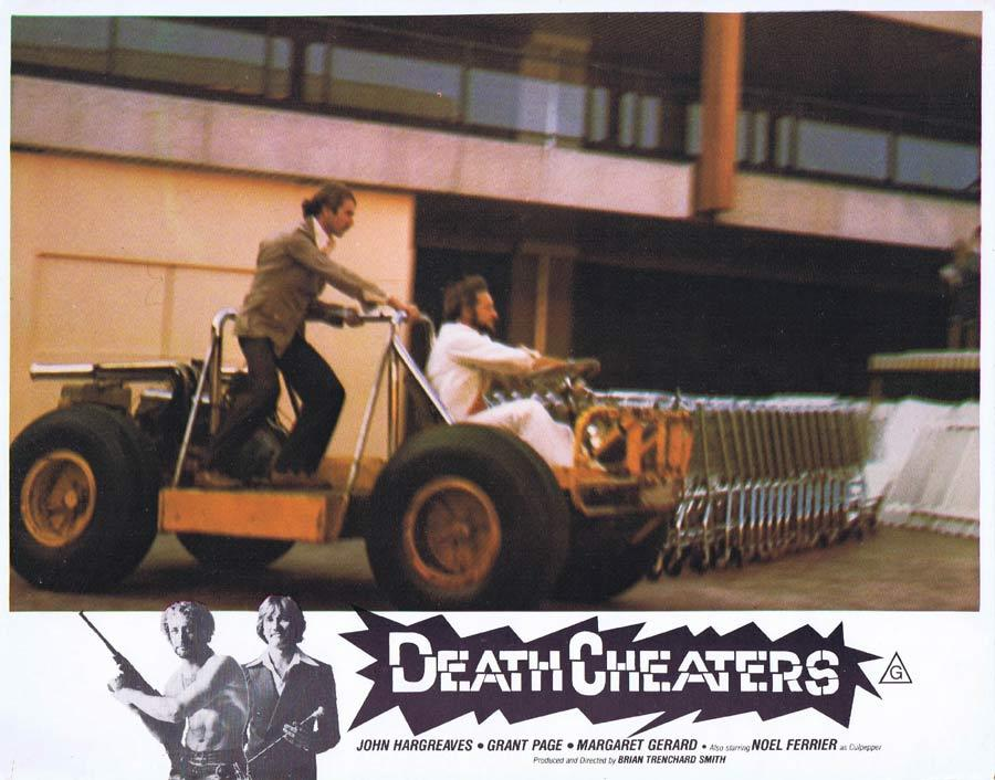 DEATH CHEATERS Lobby Card 6 Grant Page Stunt Man