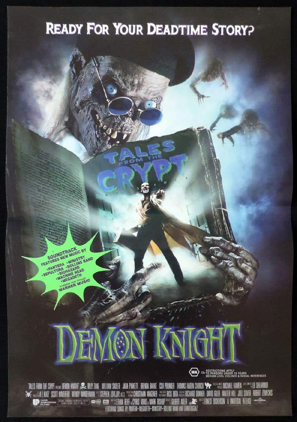 DEMON KNIGHT Daybill Movie Poster Billy Zane Horror