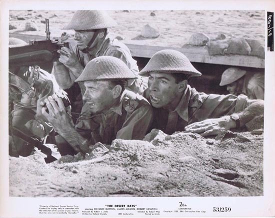 THE DESERT RATS 1953 Movie Still Photo 19 Michael Pate
