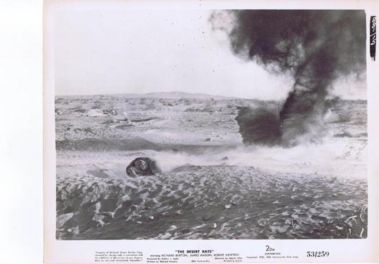 THE DESERT RATS 1953 Movie Still Photo 21 Anzac troops at Tobruk War Classic