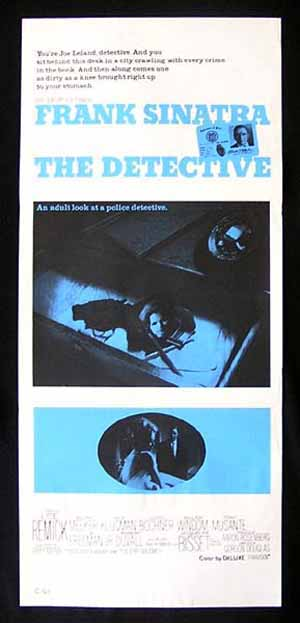 THE DETECTIVE Movie poster 1968 Frank Sinatra daybill