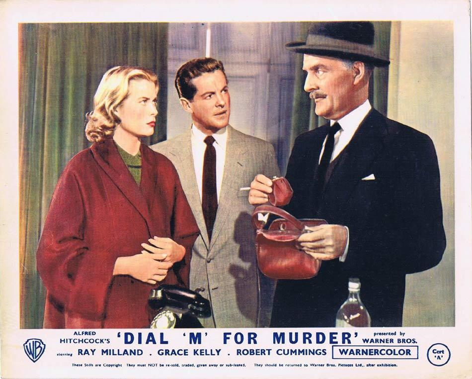 DIAL M FOR MURDER Front of House Movie Still 3 1954 8 x 10 Grace Kelly Alfred Hitchcock