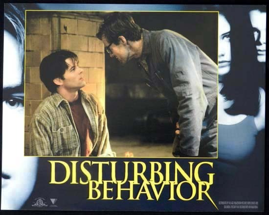 DISTURBING BEHAVIOUR 1998 Katie Holmes Lobby Card 2
