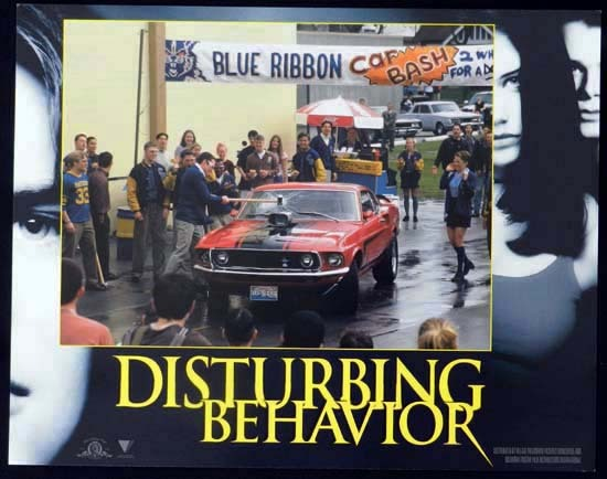 DISTURBING BEHAVIOUR 1998 Katie Holmes Lobby Card 8