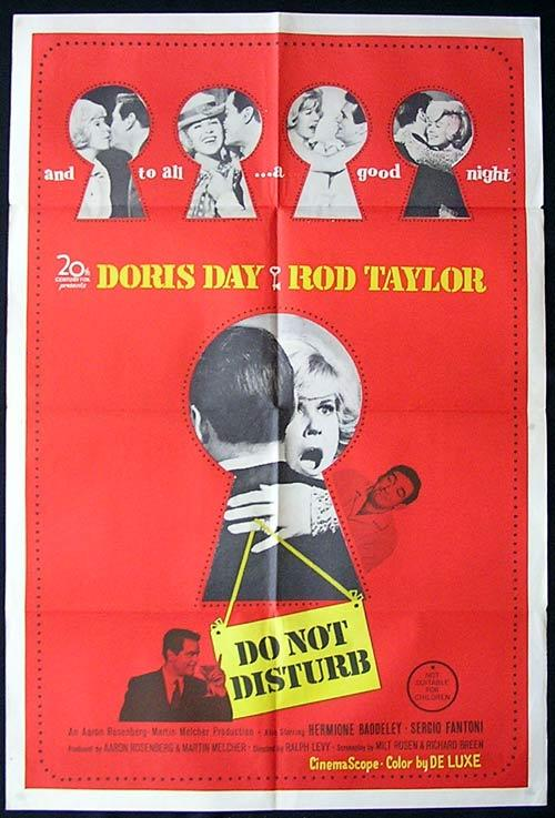 DO NOT DISTURB One Sheet Movie Poster Doris Day Rod Taylor