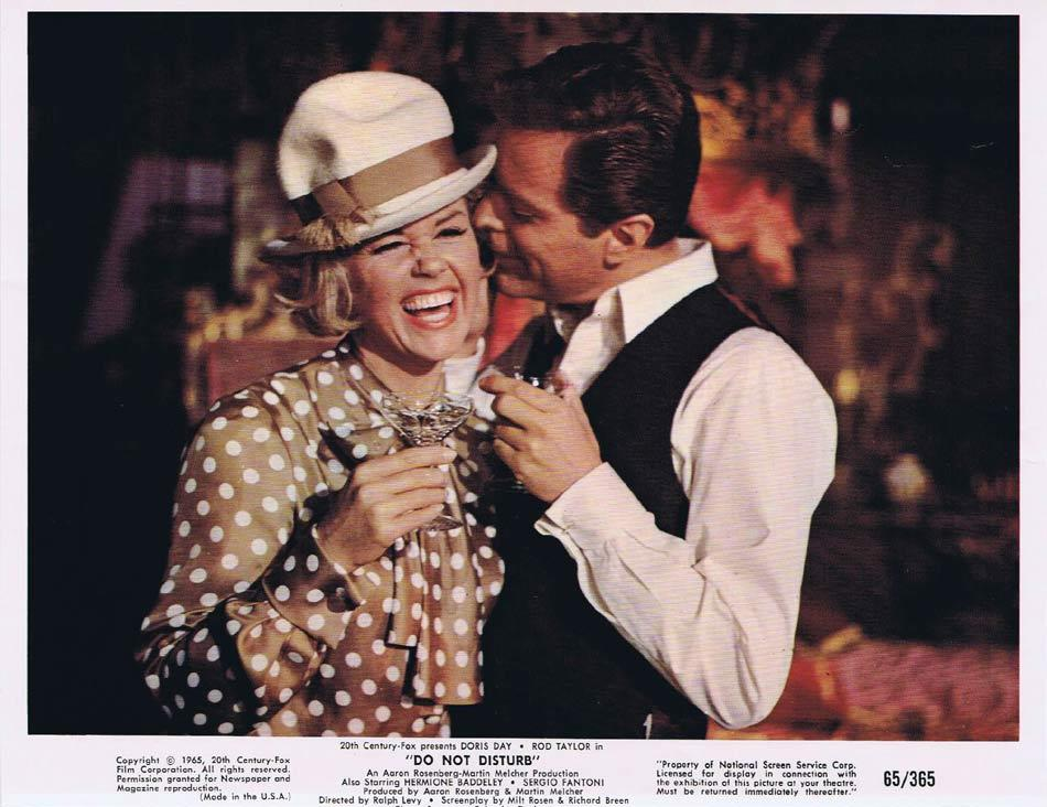 DO NOT DISTURB Vintage Colour Movie Still 1 Rod Taylor Doris Day