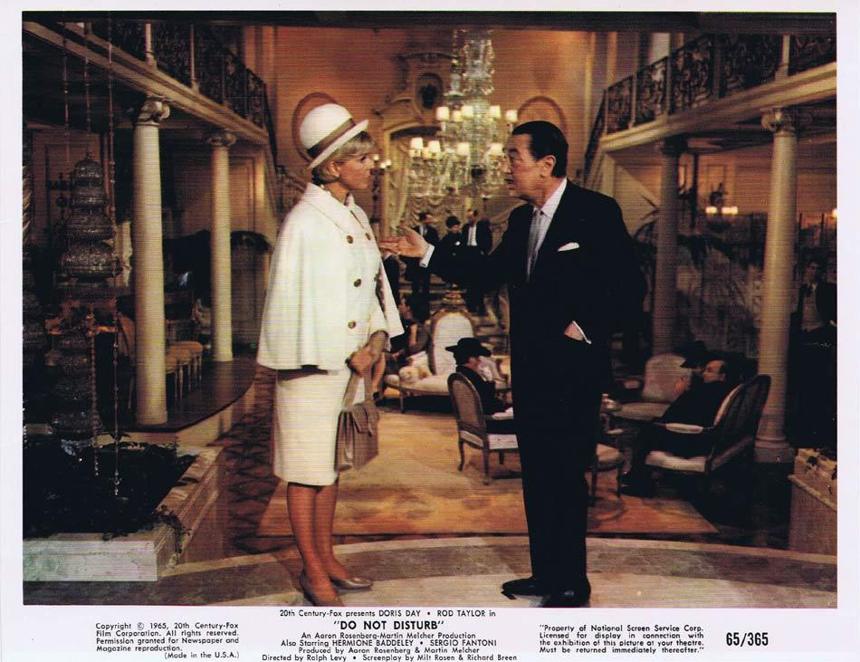 DO NOT DISTURB Vintage Colour Movie Still 2 Rod Taylor Doris Day