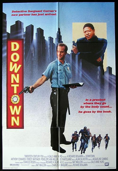 DOWNTOWN Original One sheet Movie poster Forest Whitaker