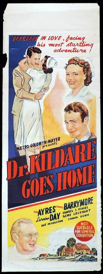 Dr. Kildare Goes Home, Harold S. Bucquet, Lew Ayres, Lionel Barrymore, Laraine Day, Samuel S. Hinds, Gene Lockhart, John Shelton, Nat Pendleton, Emma Dunn, Alma Kruger, Walter Kingsford, Nell Craig, Cliff Danielson, Henry Wadsworth, Tom Collins, George Reed, Donald Briggs, Leona Maricle, Archie Twitchell, Blossom Rock, Charles Trowbridge