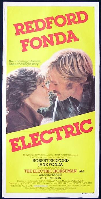 THE ELECTRIC HORSEMAN Original Daybill Movie Poster Robert Redford