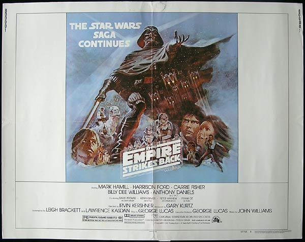 EMPIRE STRIKES BACK 1980 Star Wars ORIGINAL Stylke