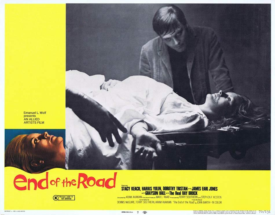END OF THE ROAD Lobby Card 7 James Earl Jones Stacy Keach Dorothy Tristan