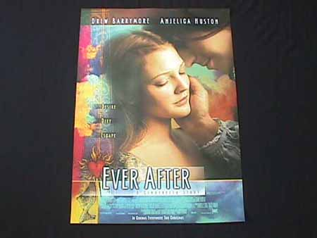 EVER AFTER '98-Drew Barrymore-Angelica Huston 1 sht
