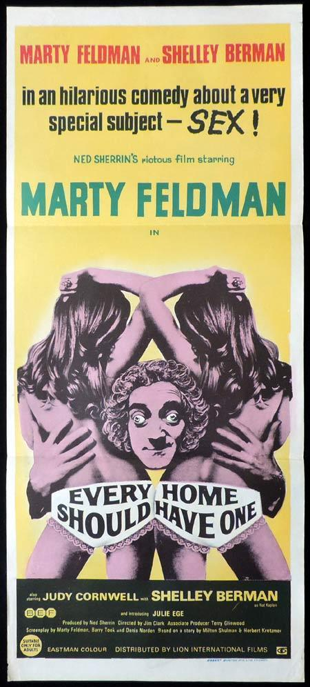 EVERY HOME SHOULD HAVE ONE Original Daybill Movie Poster Marty Feldman