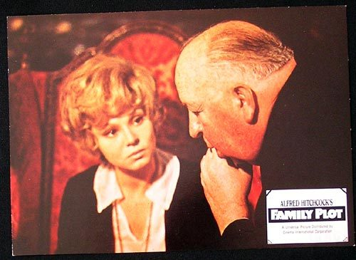 FAMILY PLOT Lobby Card 1976 Hitchcock Advises! German #9