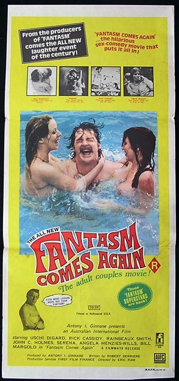 FANTASM COMES AGAIN Movie Poster 1977 Ozploitation SEX Australian Daybill