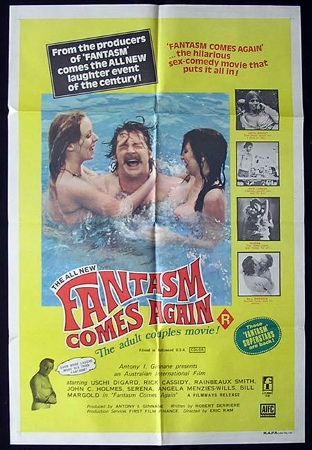 FANTASM COMES AGAIN Movie Poster 1977 Ozploitation SEX One sheet