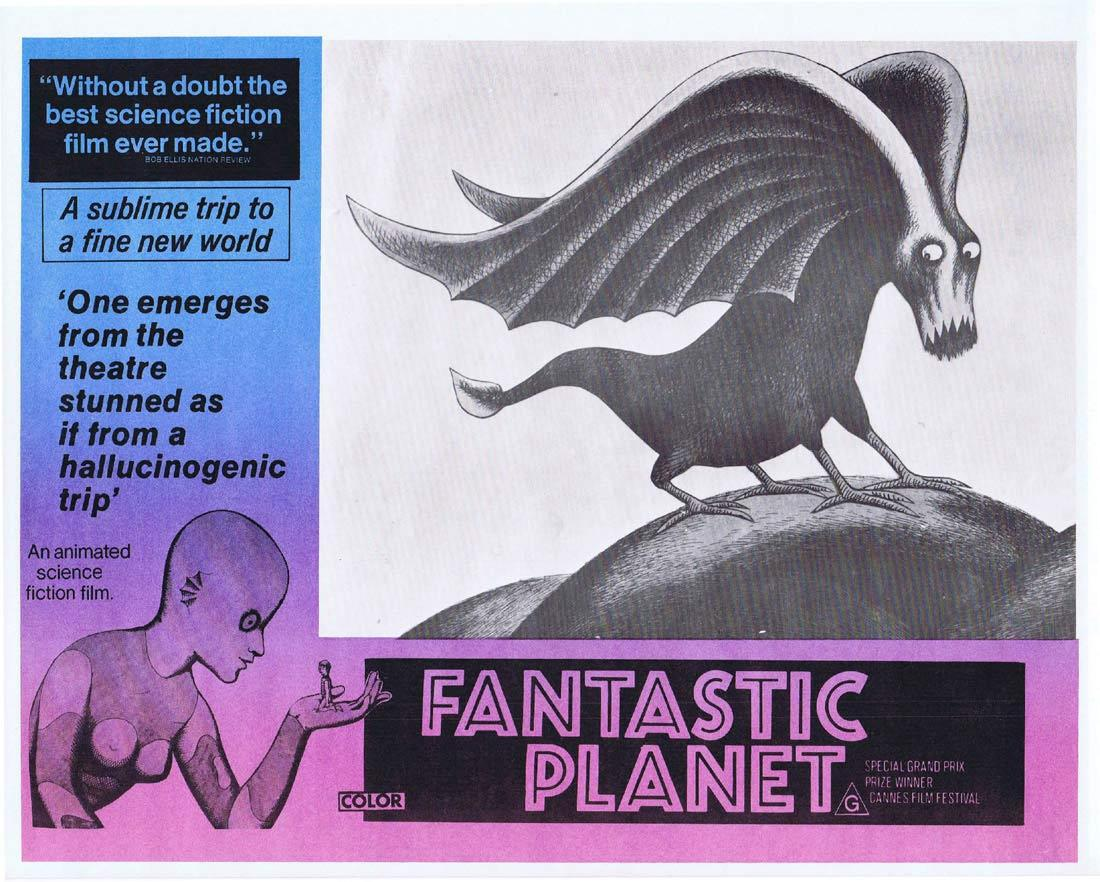 Fantastic Planet, René Laloux, Animation, Science Fiction, Roland Topor, Jiří Trnka Studio