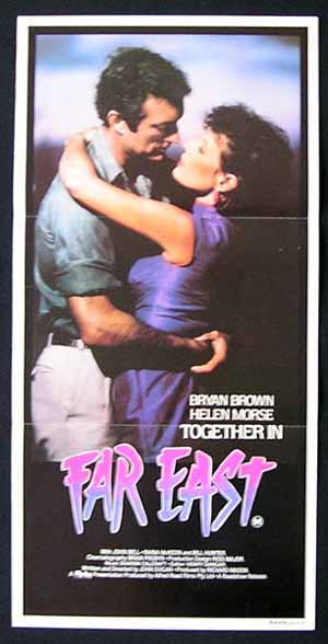 FAR EAST '82 Bryan Brown Helen Morse Australian One sheet Movie poster