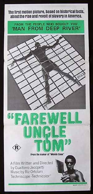 GOODBYE UNCLE TOM '71-Jacopetti-Slavery ORIGINAL poster