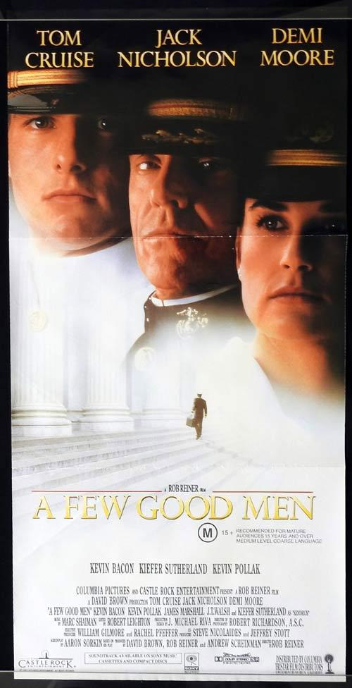 A Few Good Men, Rob Reiner, Tom Cruise, Jack Nicholson, Demi Moore, Kevin Bacon, Kevin Pollak, James Marshall, J. T. Walsh, Kiefer Sutherland