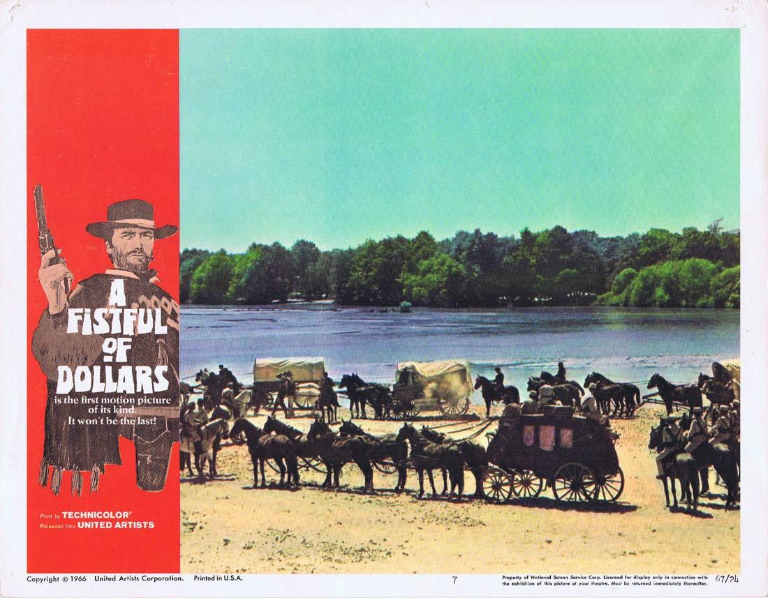 A FISTFUL OF DOLLARS Lobby Card 4 Clint Eastwood Sergio Leone