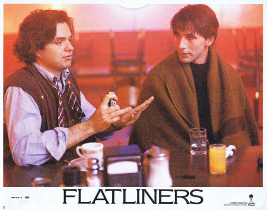 FLATLINERS Lobby Card 2 Oliver Platt William Baldwin