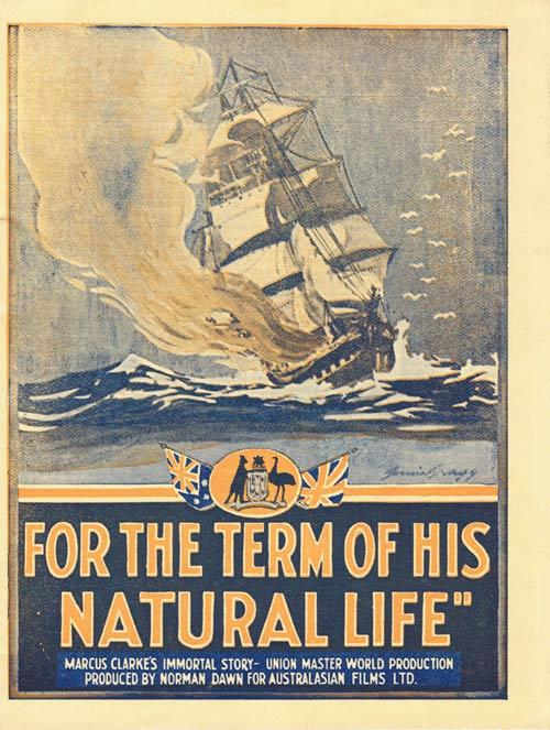 FOR THE TERM OF HIS NATURAL LIFE 1927 Norman Dawn Movie Herald Australian Cinema Classic