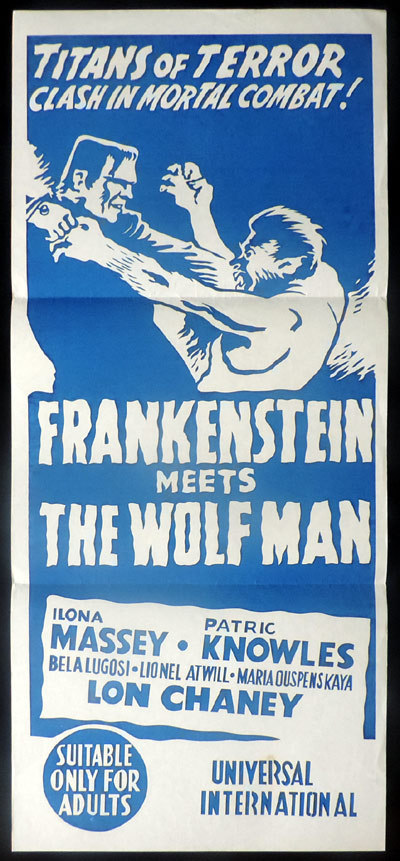 Frankenstein Meets the Wolf Man, Roy William Neill, Ilona Massey, Patric Knowles, Lionel Atwill, Bela Lugosi, Maria Ouspenskaya, Lon Chaney, Jr.