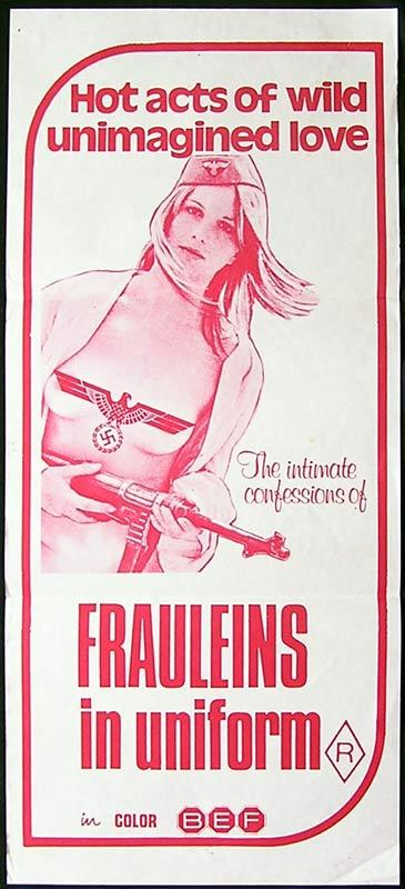 FRAULEINS IN UNIFORM '73 Armee Gretchen, Eine Sexploitation Movie Poster