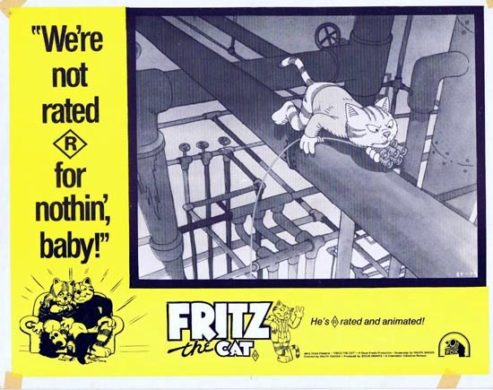 Fritz the Cat (1972) Directed by Ralph Bakshi.