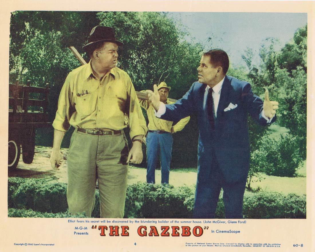 THE GAZEBO Lobby Card 4 Glenn Ford Debbie Reynolds Carl Reiner