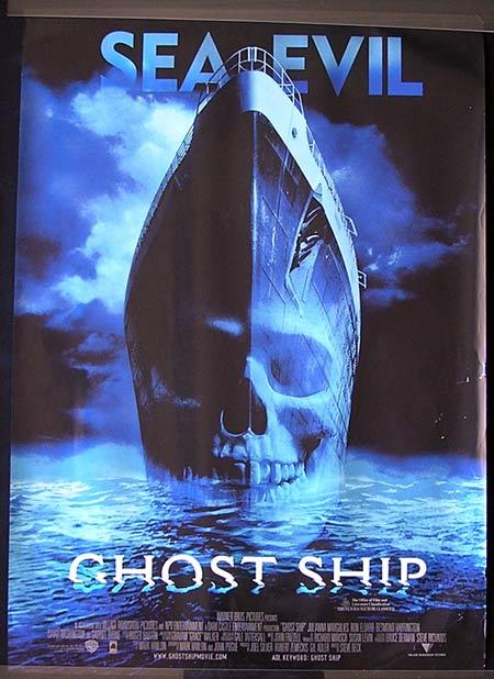 GHOST SHIP Movie Poster 2002 Gabriel Byrne Australian one sheet