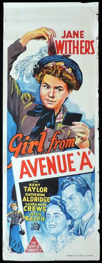 Girl from Avenue A, Otto Brower, Jane Withers