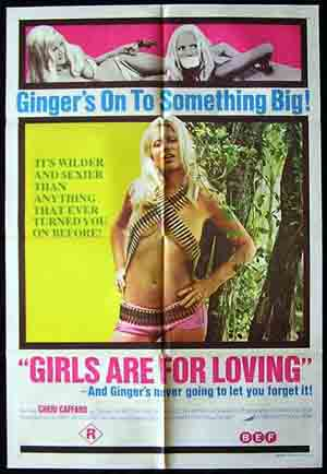 GIRLS ARE FOR LOVING 73-Caffaro-SEXPLOITATION 1s poster