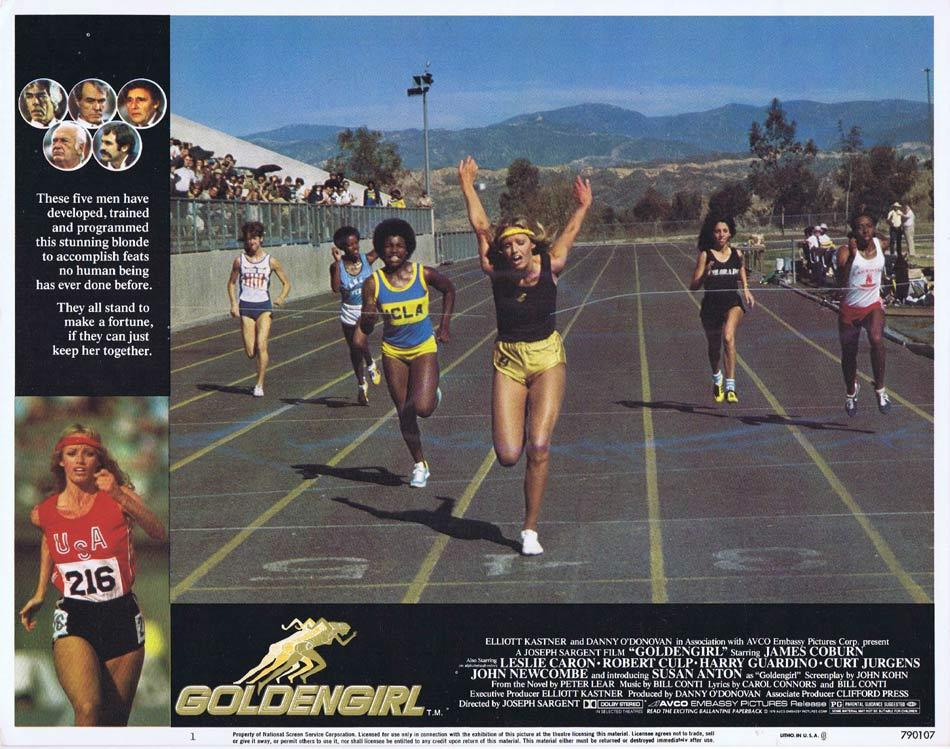 GOLDEN GIRL Lobby Card 1 Susan Anton James Coburn Leslie Caron