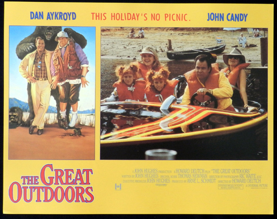THE GREAT OUTDOORS 1988 John Candy Dan Aykroyd Lobby Card 4