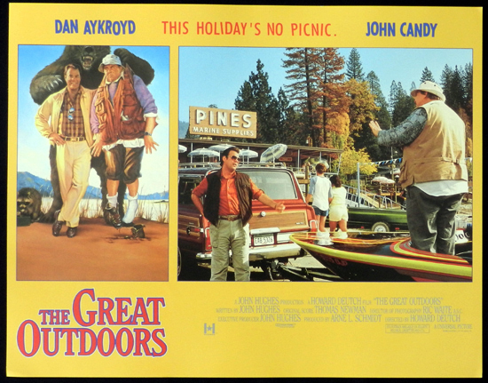 THE GREAT OUTDOORS 1988 John Candy Dan Aykroyd Lobby Card 6