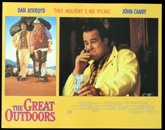 THE GREAT OUTDOORS 1988 John Candy Dan Aykroyd Lobby Card 8