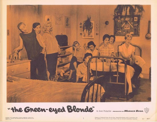 THE GREEN EYED BLONDE 1957 Lobby Card 1 Susan Oliver Bad Girls