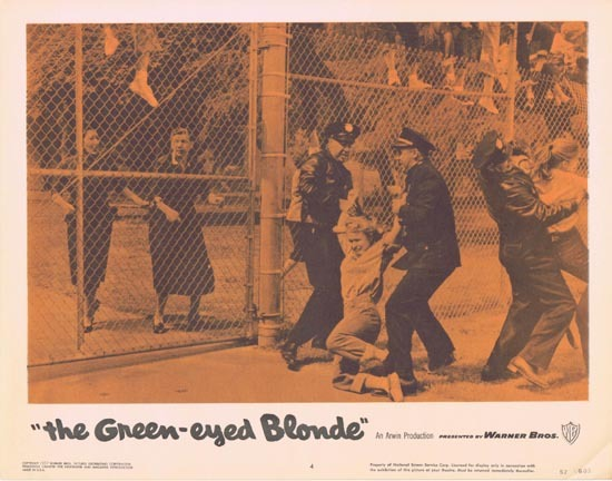 THE GREEN EYED BLONDE 1957 Lobby Card 4 Susan Oliver Bad Girls