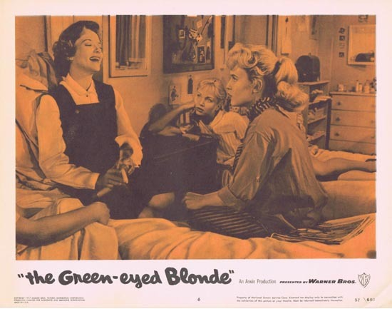 THE GREEN EYED BLONDE 1957 Lobby Card 6 Susan Oliver Bad Girls