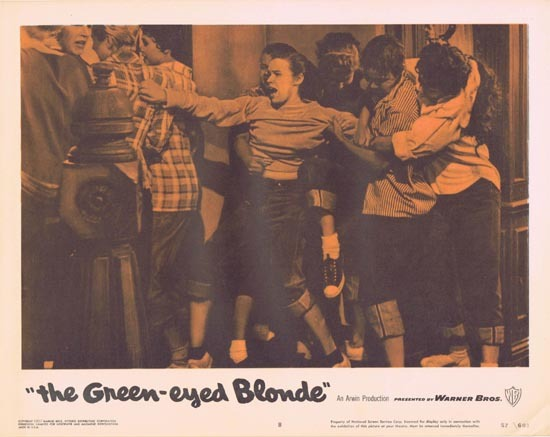 THE GREEN EYED BLONDE 1957 Lobby Card 8 Susan Oliver Bad Girls
