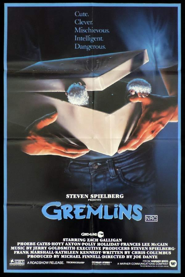 GREMLINS One Sheet Movie Poster Phoebe Cates Horror