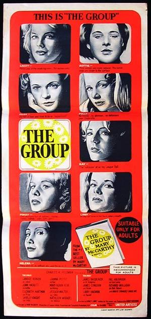 THE GROUP Daybill Movie Poster Larry Hagman